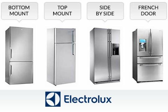 Kết quả hình ảnh cho refrigerator electrolux