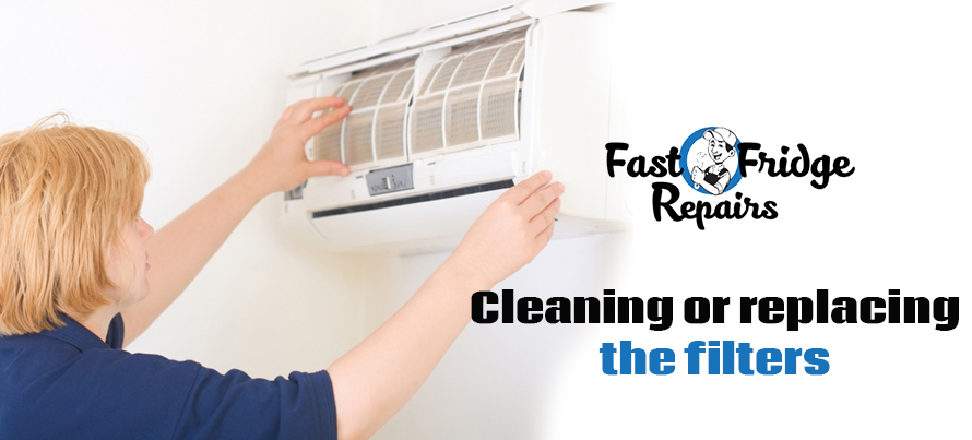 Cleaning or Replacing the Filters