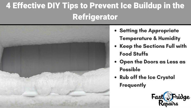 Prevent Ice Buildup in Refrigerator