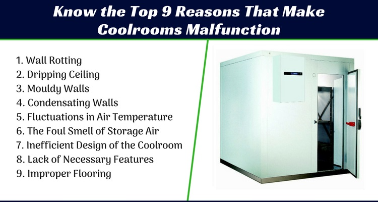 reasons for coolroom malfunction