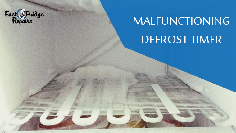 malfunctioning defrost timer