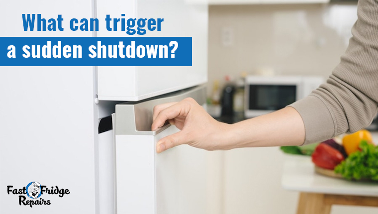 what can trigger a sudden shutdown