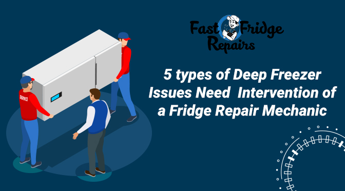 deep freezer repair services near Ultimo
