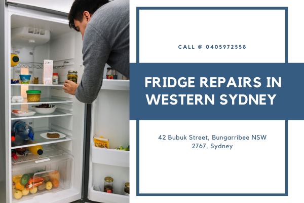 Fridge Repairs in Western Sydney