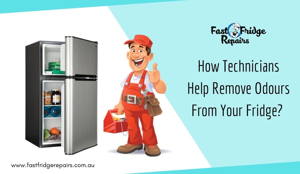 How Technicians Help Remove Odours From Your Fridge